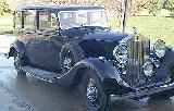 28k photo of 1939 Rolls-Royce Wraith 6-light saloon presumably by Park Ward