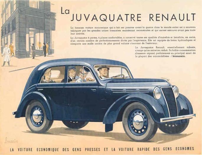 Oldtimer Gallery Cars Renault Juvaquatre