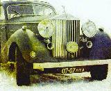 56r photo of 1939 Rolls-Royce Wraith, the car of Soviet foreign affairs minister Vyacheslav M. Molotov