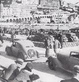 70k photo of Steyr-100 Limousine on 1935 Monte Carlo Rally