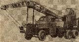 54k photo of Studebaker US6 U8 crane AK-1, USSR