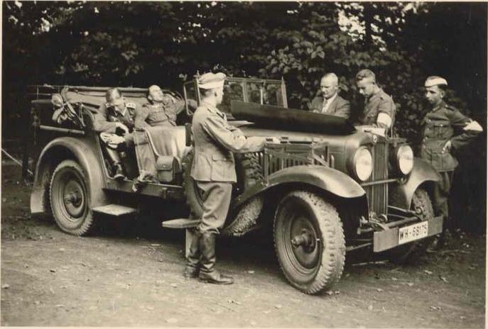 nazi staff cars