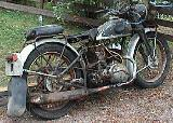 44k photo of 1938? Triumph-S350 of Petteri Nykänen