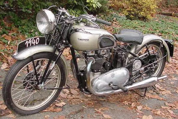 Oldtimer Gallery Motorcycles Triumph
