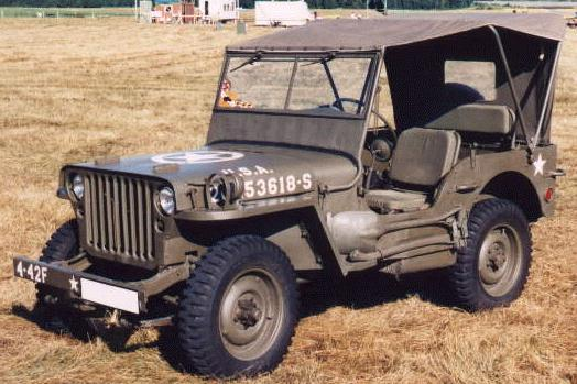 A635 COLLIER DIRECTION jeep ford  GPW  willys mb