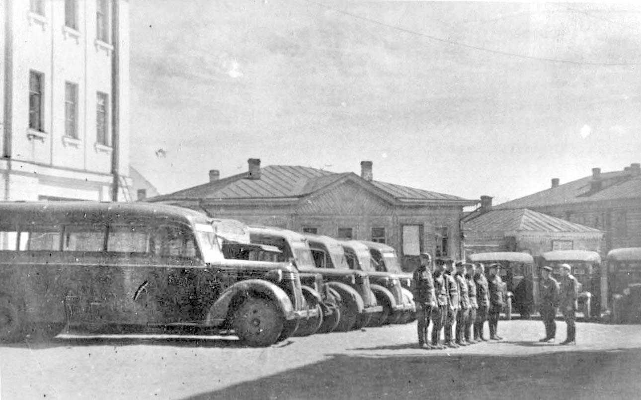 Buses for the Wehrmacht 35
