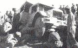 85k photo of ZiS-5 in Kara-Kum desert test run, 1933